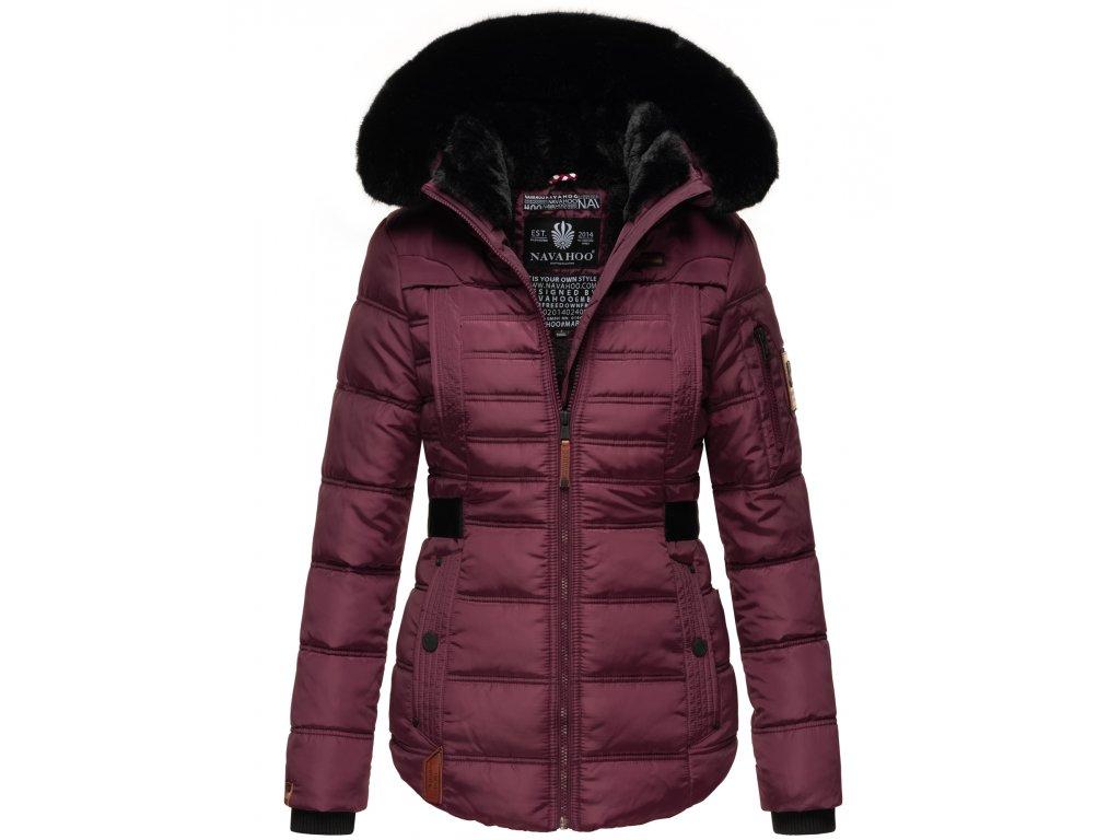 Dámská zimní bunda Melikaa Navahoo - WINE