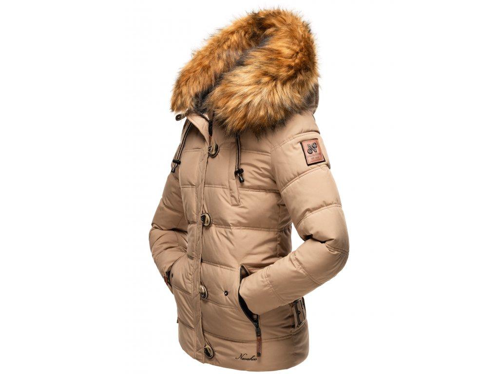 Dámska zimná bunda Zoja Navahoo - TAUPE GREY