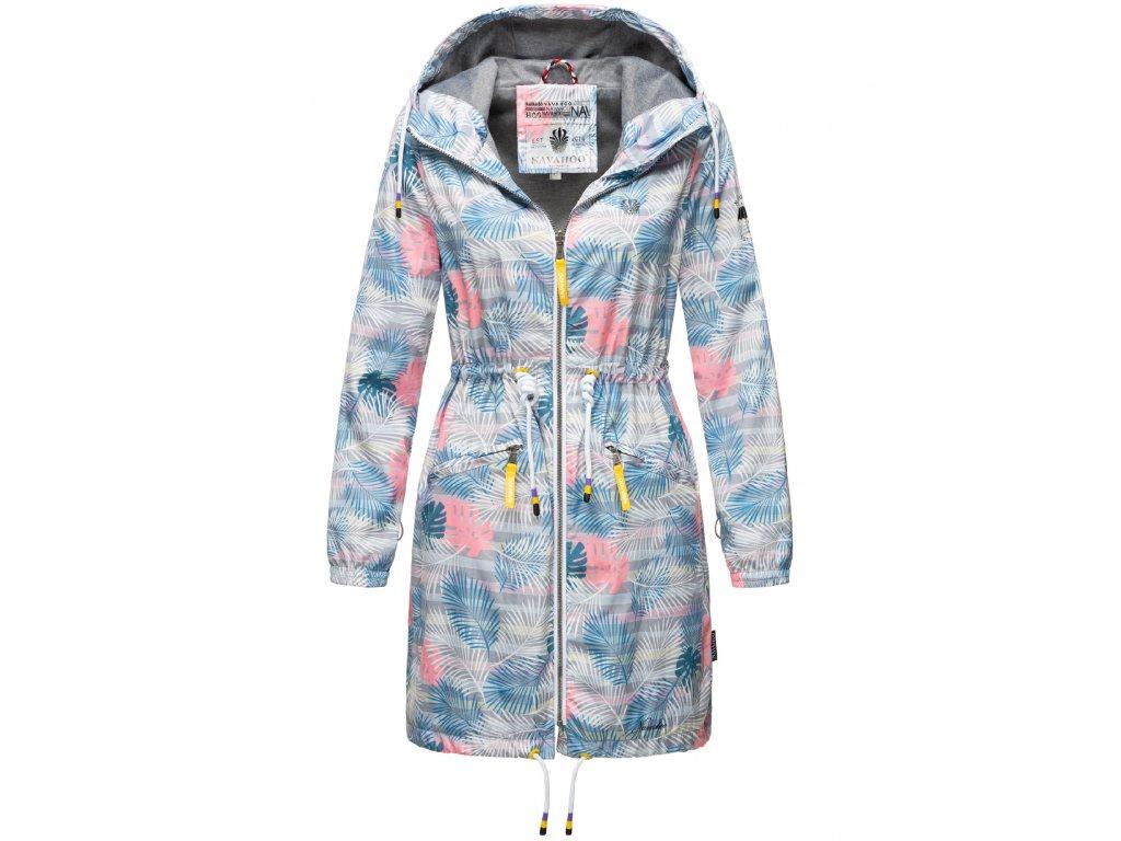 Dámska podšitá bunda do dažďa 3v1 Parella Navahoo - GREY