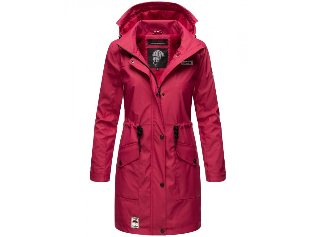 Dámska zimná bunda do dažďa Deike Navahoo - FUCHSIA