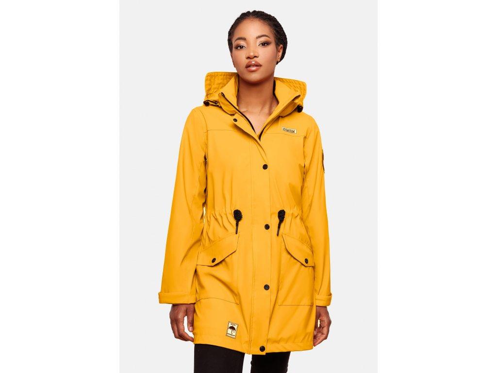 Dámska zimná bunda do dažďa Deike Navahoo - YELLOW