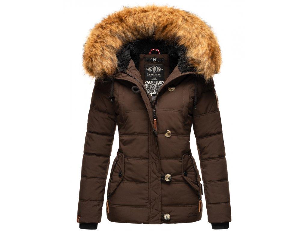 Dámska zimná bunda Zoja Navahoo - CHOCOLATE