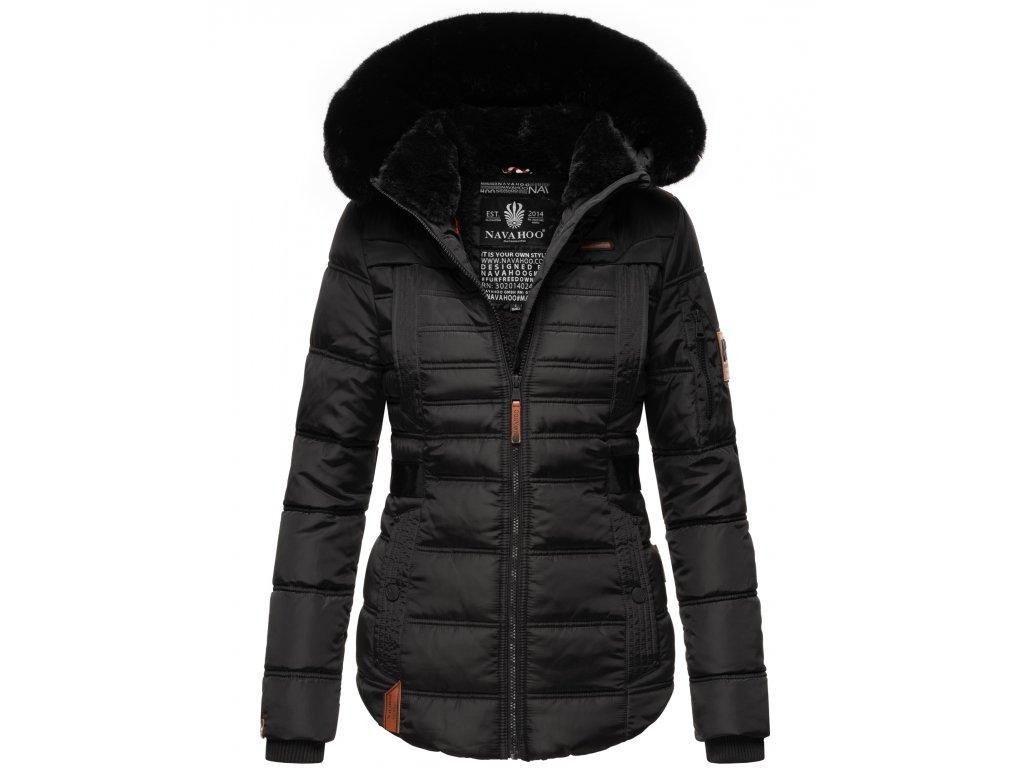 Dámská zimní bunda Melikaa Navahoo - BLACK