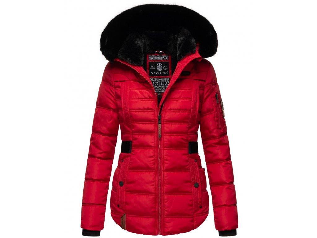 Dámská zimní bunda Melikaa Navahoo - RED