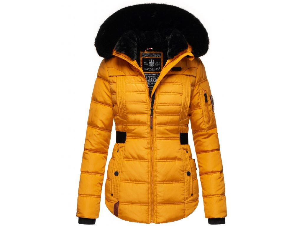 Dámská zimní bunda Melikaa Navahoo - YELLOW