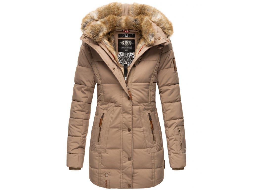 Dámska zimná bunda Lieblings Jacke Premium Marikoo - TAUPE
