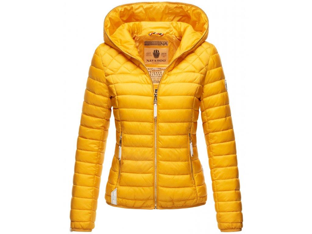 Dámska jarná-jesenná bunda Ich bin Hübsch Navahoo - YELLOW
