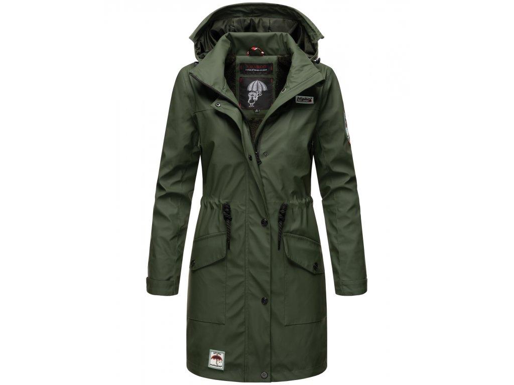 Dámska zimná bunda do dažďa Deike Navahoo - OLIVE