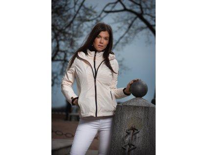 Dámska outdoorová bunda s kapucňou Eerdbeere Marikoo - BEIGE