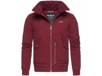 Pánska zimná bunda JIM Marikoo - BORDEAUX