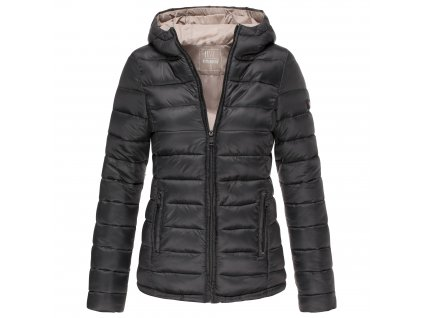 Dámska zimná bunda s kapucňou Lucy Marikoo - BLACK