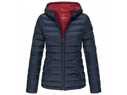 Dámska zimná bunda s kapucňou Lucy Marikoo - NAVY