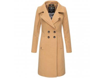 Dámsky zimný kabát Wooly Navahoo - CAMEL