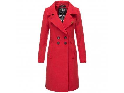 Dámsky zimný kabát Wooly Navahoo - RED