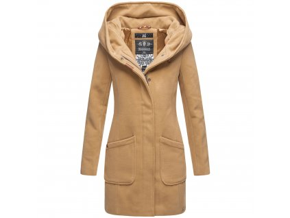Dámsky zimný kabátik Maikoo Navahoo - CAMEL