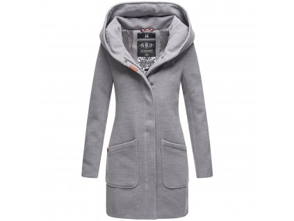 Dámsky zimný kabátik Maikoo Navahoo - LIGHT GREY