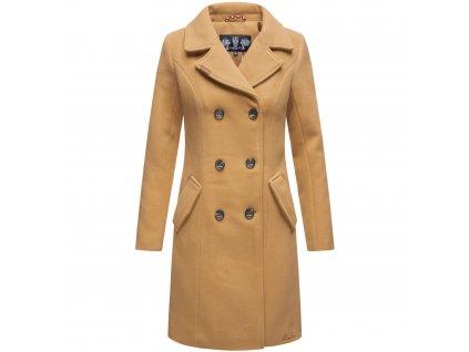 Dámsky zimný kabát Nanakoo Navahoo - CAMEL