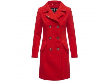 Dámsky zimný kabát Nanakoo Navahoo - RED