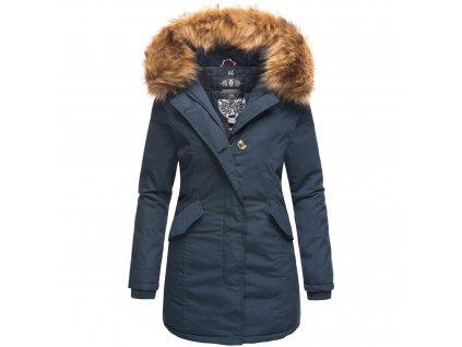 Dámska zimná bunda Karmaa Marikoo - BLUE
