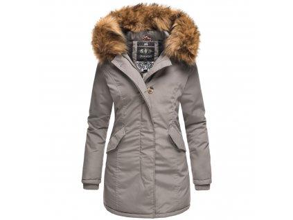 Dámska zimná bunda Karmaa Marikoo - GREY