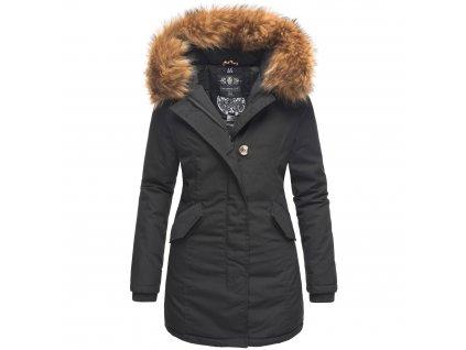 Dámska zimná bunda Karmaa Princess Marikoo - BLACK