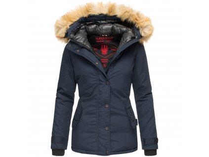 Dámska zimná bunda s kapucňou Laura Navahoo - BLUE