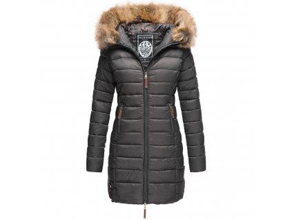 Dámska prechodová bunda s kapucňou ROSE 110 Marikoo - Antracite