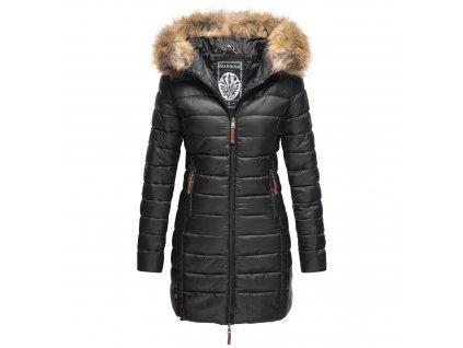 Dámska zimná bunda s kapucňou ROSE 110 Marikoo - BLACK