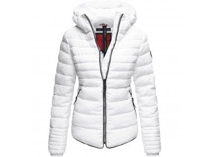 Dámska zimná bunda s kožušinkou Amber Marikoo 2019 - WHITE