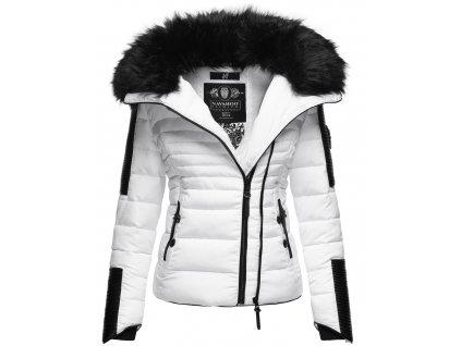 Dámska zimná bunda s kožušinkou Yuki 2 Navahoo - WHITE