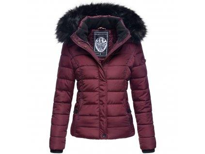 Dámska zimná bunda s kožušinkou MIAMOR Navahoo - WINE