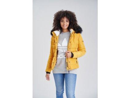 Dámska zimná bunda s kožušinkou MIAMOR Navahoo - YELLOW