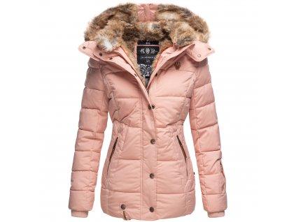 Dámska zimná bunda s kapucňou Nekoo Marikoo - ROSE