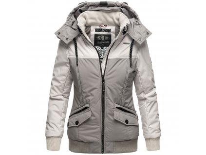 Dámska zimná bunda Sumikoo Marikoo - GREY/GREY