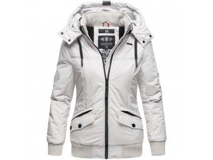 Dámska zimná bunda Sumikoo Marikoo - LIGHT GREY