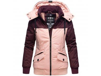 Dámska zimná bunda Sumikoo Marikoo - WINE/ROSE