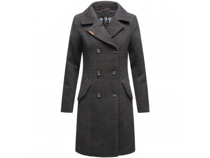 Dámsky zimný kabát Nanakoo Navahoo - ANTRACITE