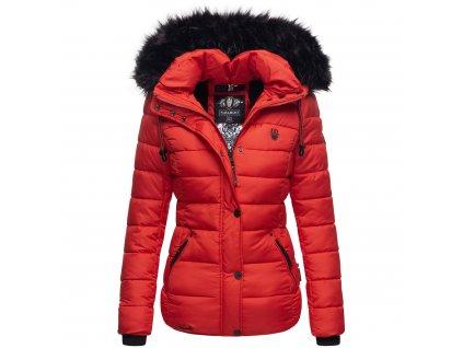 Dámska zimná bunda Zuckerbiene Navahoo - RED