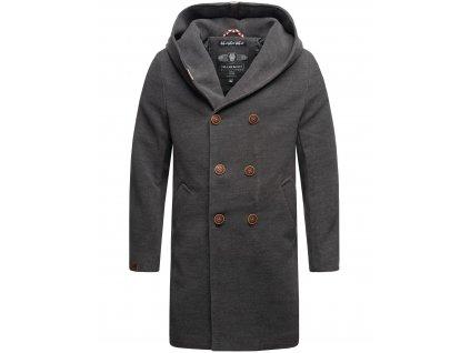 Pánsky zimný kabát iruka Marikoo - ANTRACIT