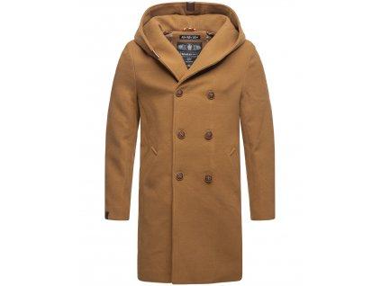Pánsky zimný kabát iruka Marikoo - CAMEL