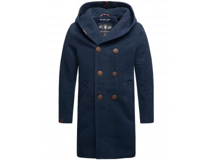 Pánsky zimný kabát iruka Marikoo - DARK BLUE