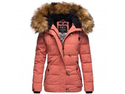 Dámska zimná bunda Zoja Navahoo - DARK CORAL