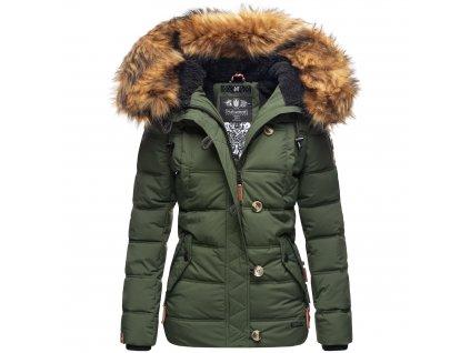 Dámska zimná bunda Zoja Navahoo - OLIVE