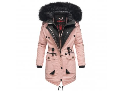 Dámska zimná bunda / kabát Knutschkugel Marikoo - ROSE