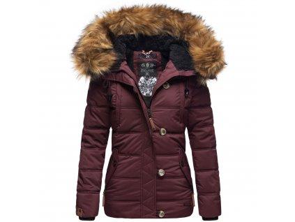 Dámska zimná bunda Zoja Navahoo - WINE
