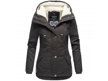 Dámska zimná bunda Bikoo Marikoo - ANTRACITE
