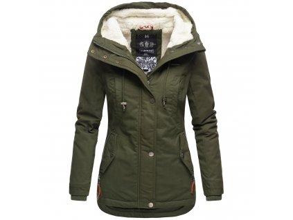 Dámska zimná bunda Bikoo Marikoo - GREEN