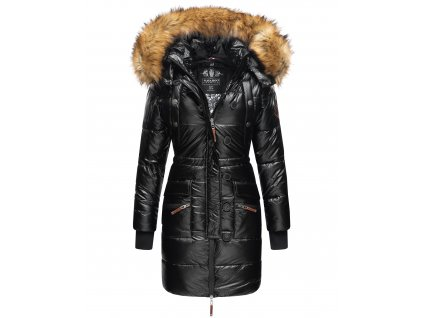 Dámská zimní bunda - kabát Zuckerle Navahoo - BLACK