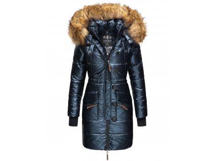 Dámská zimní bunda - kabát Zuckerle Navahoo - NAVY