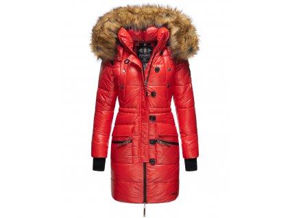 Dámská zimní bunda - kabát Zuckerle Navahoo - RED